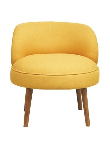 Ze10 Design Nice Tekli Koltuk Sarı Sarı